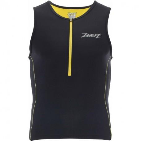 Zoot Performance Tri Tank black/yellow