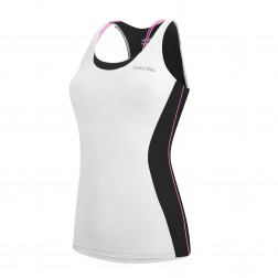 Zero RH+ Top rowerowy Mirage White Black Pink