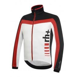 Zero RH+ kurtka kolarska Logo Evo Jacket Black White Red