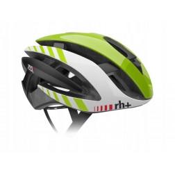 Zero RH+ kask rowerowy Z Alpha Shiny Green Shiny White