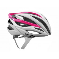 Zero RH+ kask rowerowy ZW Shiny White Shiny Pink