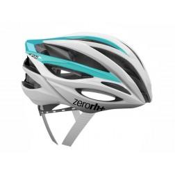 Zero RH+ kask rowerowy ZW Shiny White Shiny Light Blue