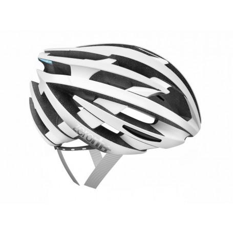 Zero RH+ kask rowerowy ZY Matt White Shiny Light Blue