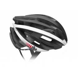 Zero RH+ kask rowerowy ZY Matt Black Arrow Shiny White