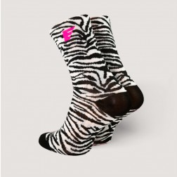 HERO Skarpetki kolarskie Jungle Zebra