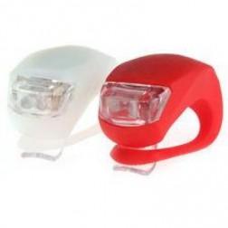 Spencer Lampy 2 led frog, biała/czerwona