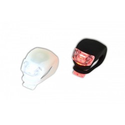 X-Light Lampy 2 led frog, biała/czarna
