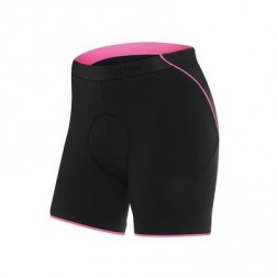 Spodenki kolarskie damskie Fusion II black-deep pink