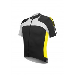 RH Koszulka rowerowa Agility Jersey FZ black-acid yellow