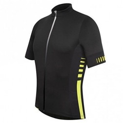 Zero RH Koszulka rowerowa Infinity Jersey FZ black-acid yellow
