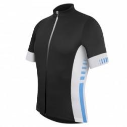 Zero RH+ Koszulka rowerowa Infinity Jersey FZ black-white-blue