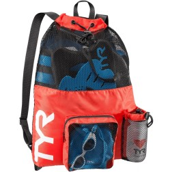 TYR plecak/worek treningowy Big Mesh Mummy Bag III Czerwony