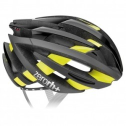 Zero RH+ kask rowerowy ZY Shiny Black-Bridge Yellow Fluo