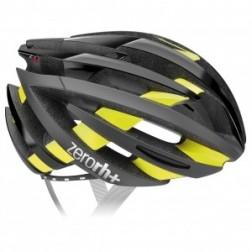 Zero RH+ kask rowerowy ZY Shiny Black-Bridge Yellow Fluo