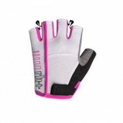 Zero RH+ rękawiczki rowerowe One W Glove white-deep pink
