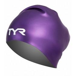 TYR Silicone Cap Reversible purple