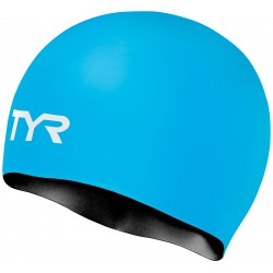 TYR Silicone Cap Reversible Blue