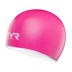 TYR Silicone Cap Reversible pink