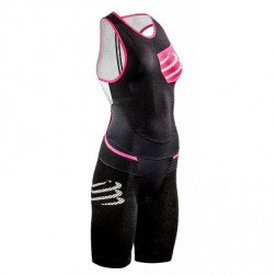 COMPRESSPORT Strój triathlonowy damski TR3 Compression Aero Trisuit