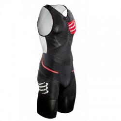 COMPRESSPORT Strój triathlonowy męski TR3 Compression Aero Trisuit