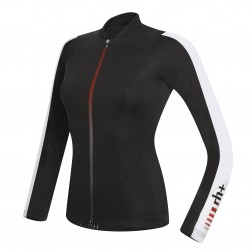 Zero RH+ Spirit Long Sleeve Jersey FZ black-white W
