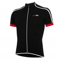 Zero RH+ koszulka kolarska Prime Jersey FZ black-white-red