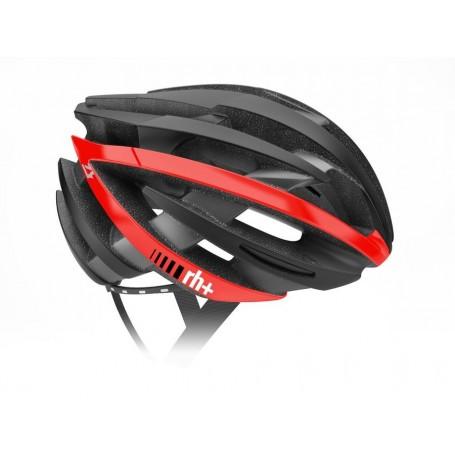 Zero RH+ kask rowerowy ZY Shiny Black-Bridge Matt White
