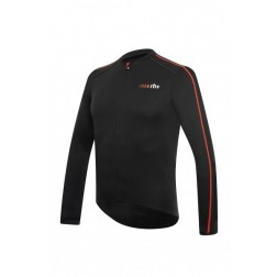 Zero RH+ Prime Long Sleeve Jersey FZ black-red