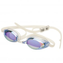 Finis OKULARY LIGHTNING BLUE/MIRROR - okulary startowe z niskim profilem
