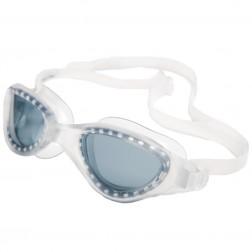 FINIS OKULARY ENERGY CLEAR SMOKE - wygodne okulary do pływania fitness