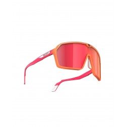 Rudy Project Okulary SPINSHIELD MANDARIN FADE CORAL MATTE - MULTILASER RED