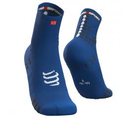 COMPRESSPORT Skarpetki do biegania długie ProRacing Socks v3.0 koralowy
