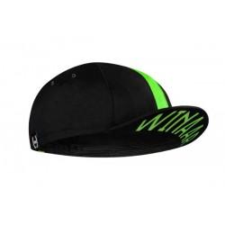 Winaar czapka kolarska CAP BLACK-green