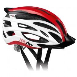 Zero RH+ kask rowerowy TwoInOne Shiny White-Shiny Red