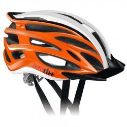 Zero RH+ kask rowerowy TwoInOne ShinyOrange-MattBlack