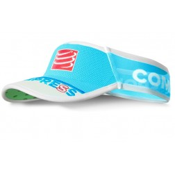 Compressport daszek UltraLight Visor V2 blue fluo