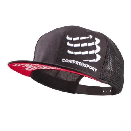Compressport czapka trucker czarna