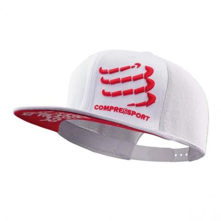 COMPRESSPORT Flat Cap biała