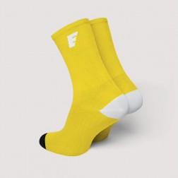 HERO Skarpetki kolarskie yellow