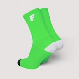 HERO Skarpetki kolarskie fluo green