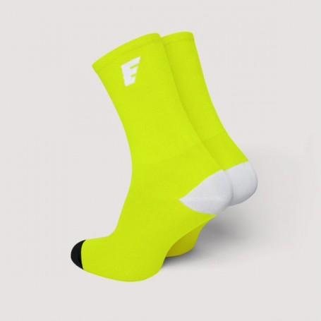HERO Skarpetki kolarskie fluo yellow