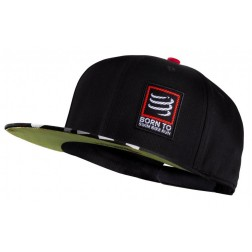 Compressport czapka trucker czarna