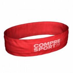 Compressport Pas na biodra free belt czerwony