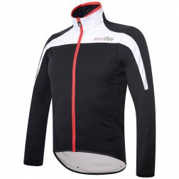 Zero RH+ kurtka kolarska Space jacket black-white-red