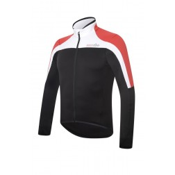 Zero RH+ bluza kolarska Space jersey black-white-red
