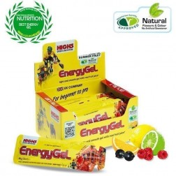 High5 energy gel raspberry 40g
