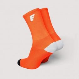 HERO Skarpetki kolarskie fluo orange