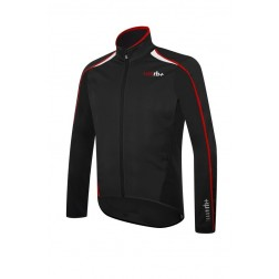 Zero RH+ kurtka kolarska Prime Evo Jacket black red white