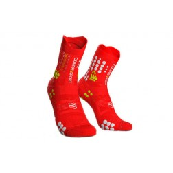 Compressport Skarpetki do biegania Racing Socks v3.0 red white