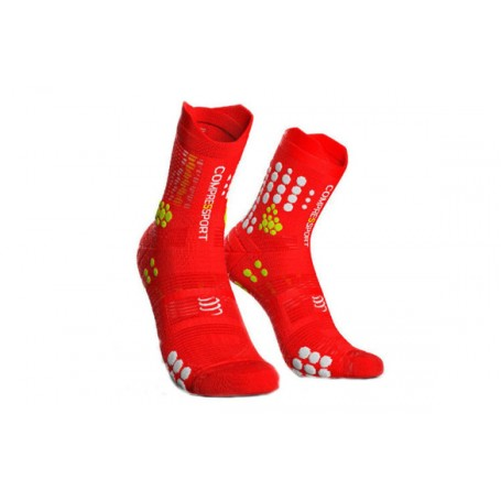 Compressport Skarpetki do biegania Racing Socks Trail V3.0 red white ... 3d43d45b2ed